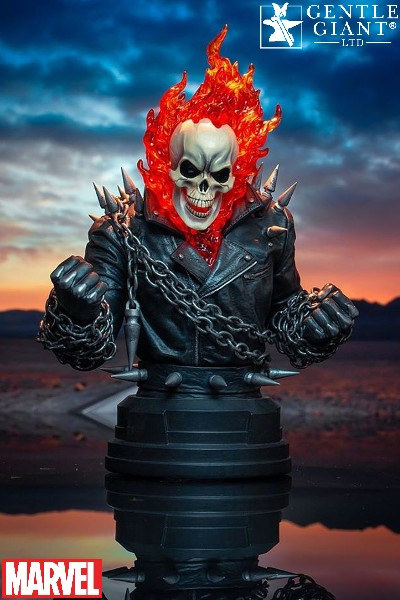 Preorder Gentle Giant Marvel Ghost Rider Bust